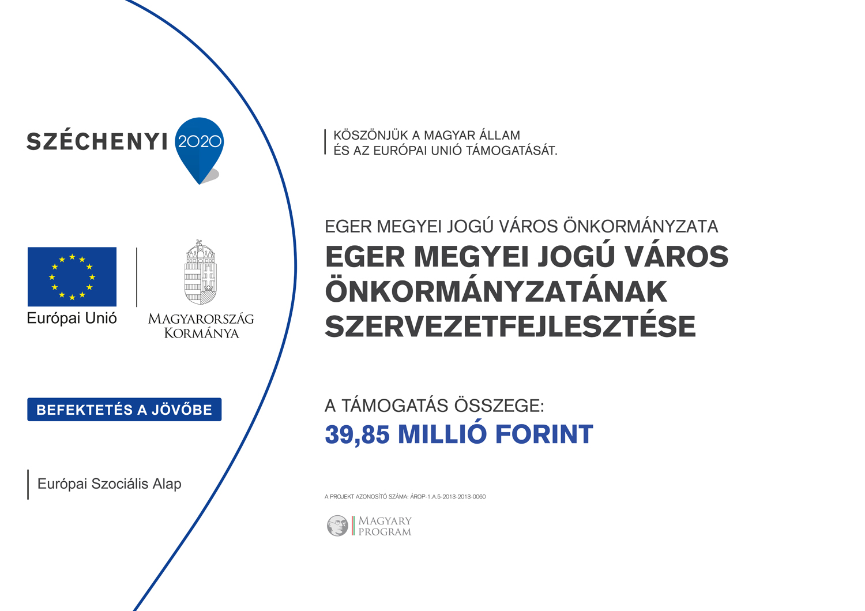 Eger Megyei Jogú Város Önkormányzatának Szervezetfejlesztése