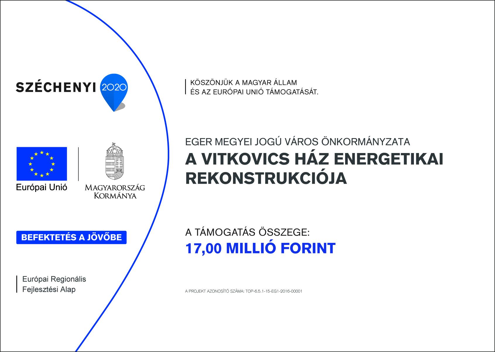 A Vitkovics ház energetikai rekonstrukciója