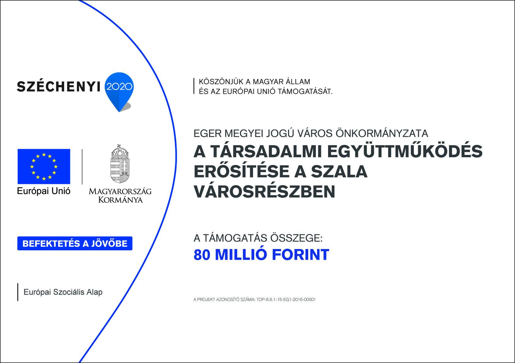 A társadalmi együttműködés erősítése a Szala városrészben