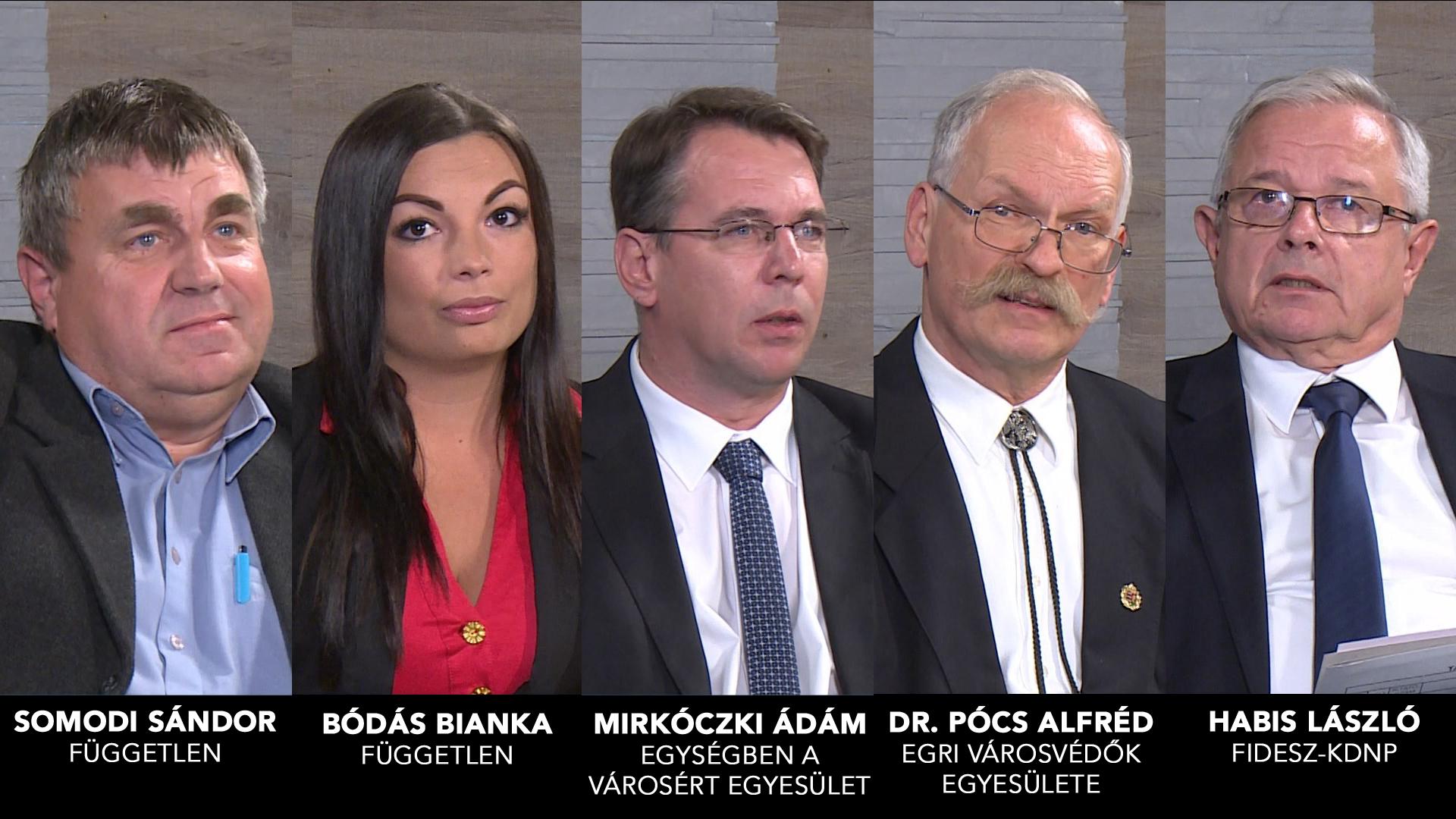 Önkormányzati választás 2019 – polgármesterjelöltek bemutatkozása