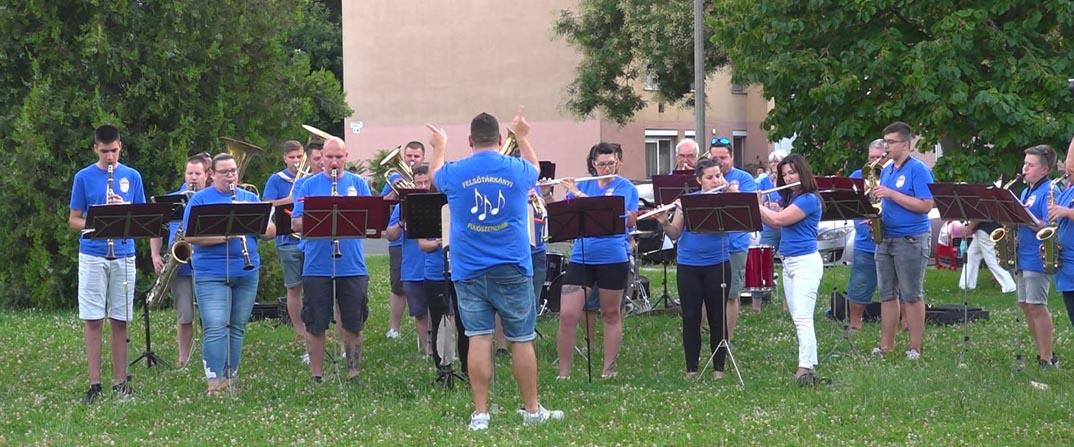 Fúvószenekari koncert a Felsővárosban