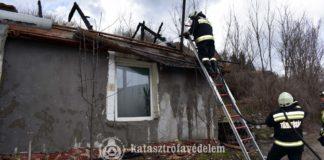 Családi ház tűz Felsőtárkányban