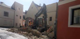 Magánszemély épít ingatlant az Ódry-ház helyére