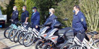 Robogókat és kerékpárokat ajándékozott a rendőrség