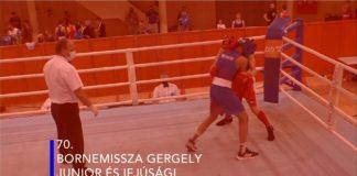 70. Bornemissza Gergely Junior és Ifjúsági Nemzetközi Ökölvívó Emlékverseny