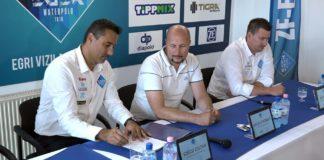 Egri Vízilabda Klub: új támogató, új stábtagok