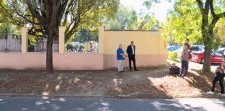 Elkészült a Grőber temető kerítése