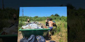 A KÖSZ Egyesület önkéntesen tisztítja az országot